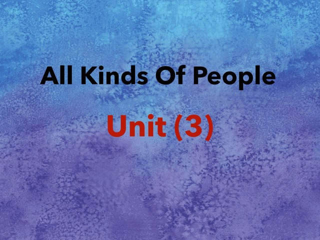 Unit 3 by Redrose Al-qahtani