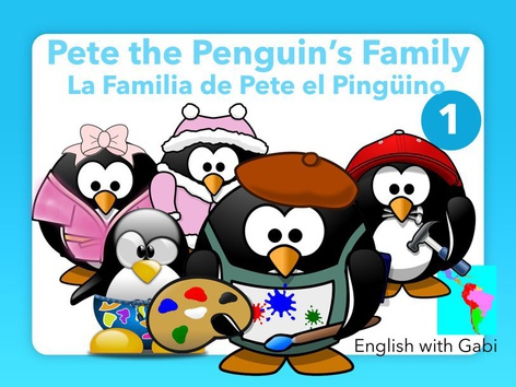 La Familia de Pete 1-Leer en Inglés  by English with Gabi אנגלית עם גבי