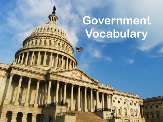 Government Vocabulary by Maleah Stewart