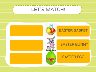EASTER PUZZLE-LET'S MATCH! by nadia lento