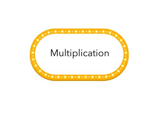 Multiplication  by ES Sharma
