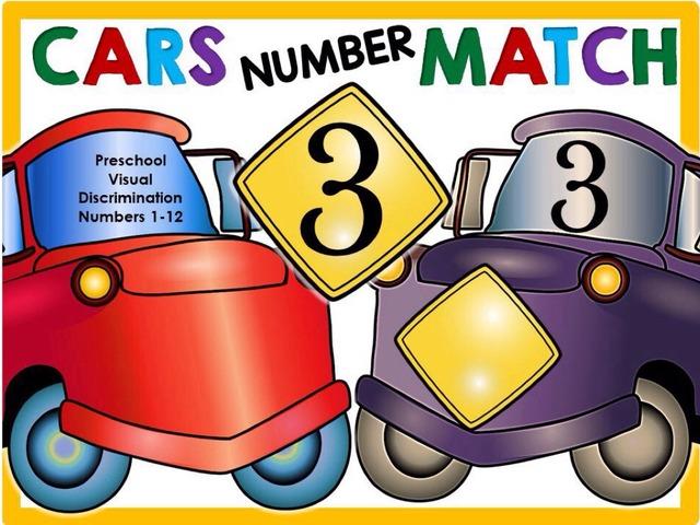 Cars Number Pop - Visual Discrimination 1-12 by Yara Habanbou