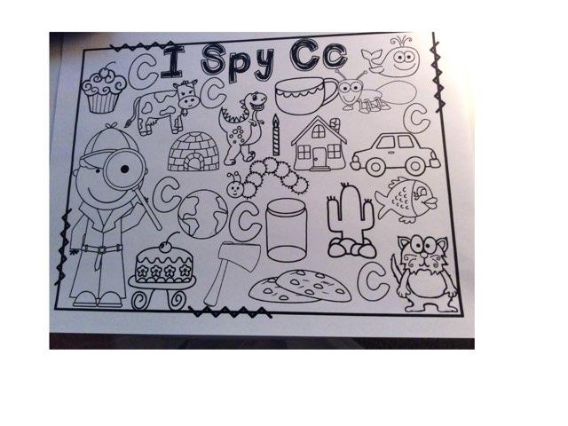 I Spy Cc by Yvonne Malone