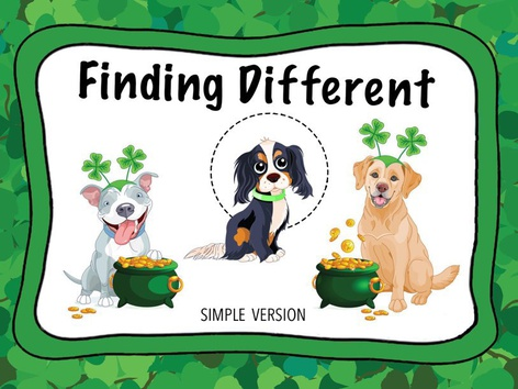 Finding Different On St Patrick's Day (EN UK) by Cici Lampe