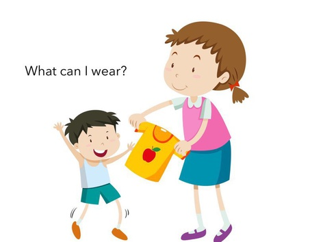 What Can I Wear? by Madonna Nilsen