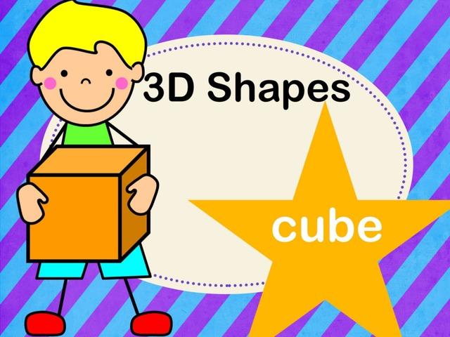 3D Shapes - Cube by Jennifer