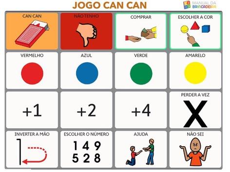 JOGO CAN CAN PRANCHA - Manual Da Brincadeira  by MIRYAM PELOSI