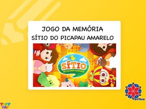 Jogo da Memória Sítio do Picapau Amarelo by Thaísa Mendonça