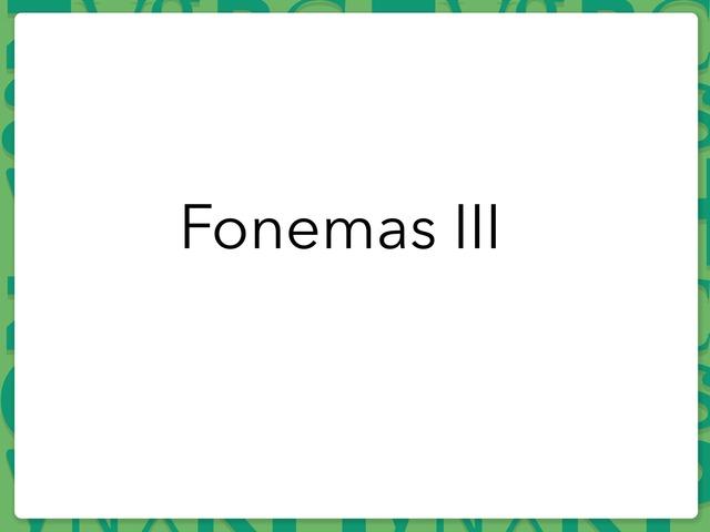 Fonemas III by Mayte Jerez