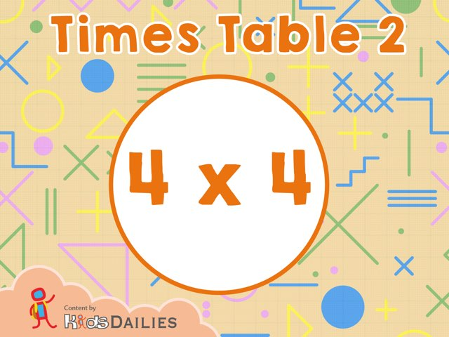 Times Table 2 by Kids Dailies