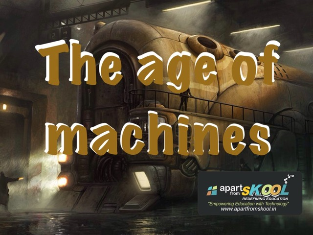 The Age Of Machine by TinyTap creator
