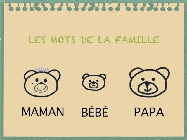 Les Mots De La Famille by Emmanuelle Botta