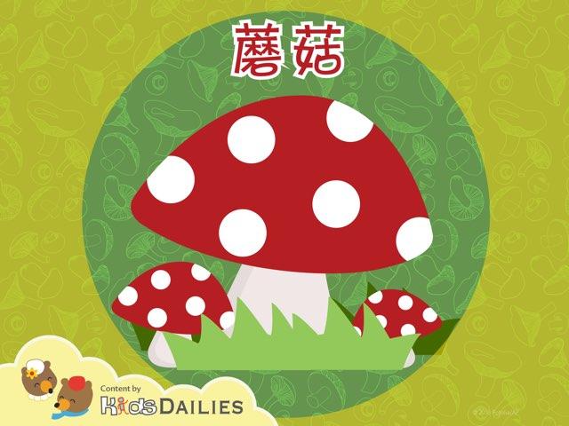 蘑菇 by Kids Dailies