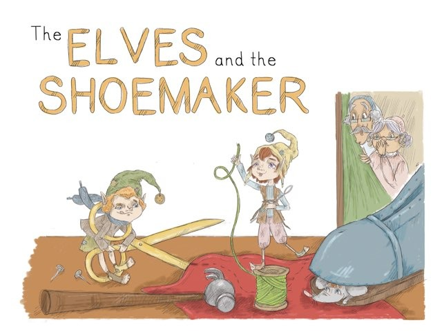 The Elves and the Shoemaker by Helen Doron English