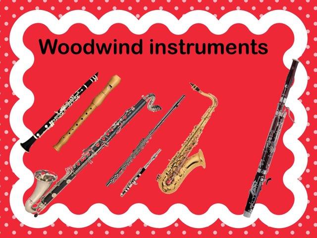 Woodwind Instruments by Carmen Martínez