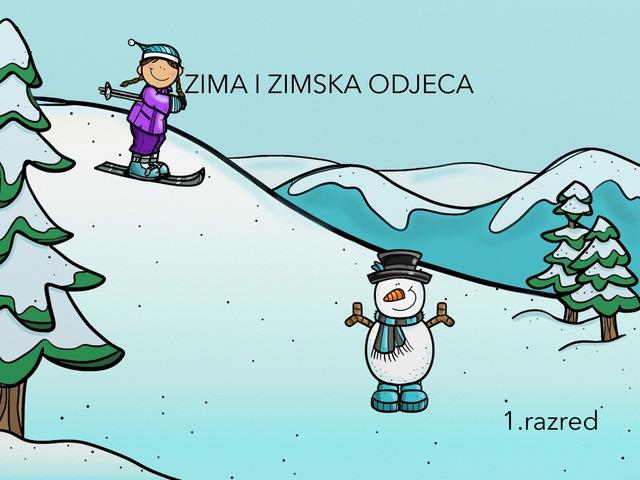 ZIMSKA ODJEĆA 1.raz by Sanja Koroman Lavižati