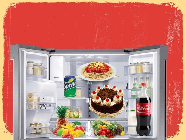 雪櫃內的食物 by sy tse