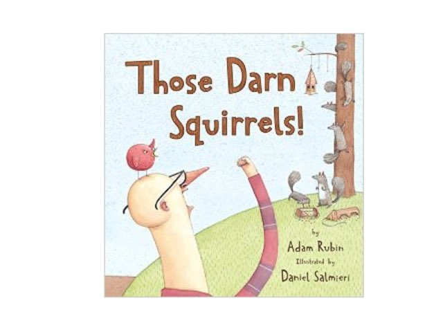 Those Darn Squirrels Vocabulary by Emily Haskell