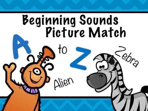 Letter Sound & Picture Match by Cici Lampe