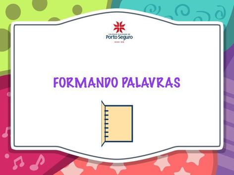FORMANDO PALAVRAS  by Mariane Gomes