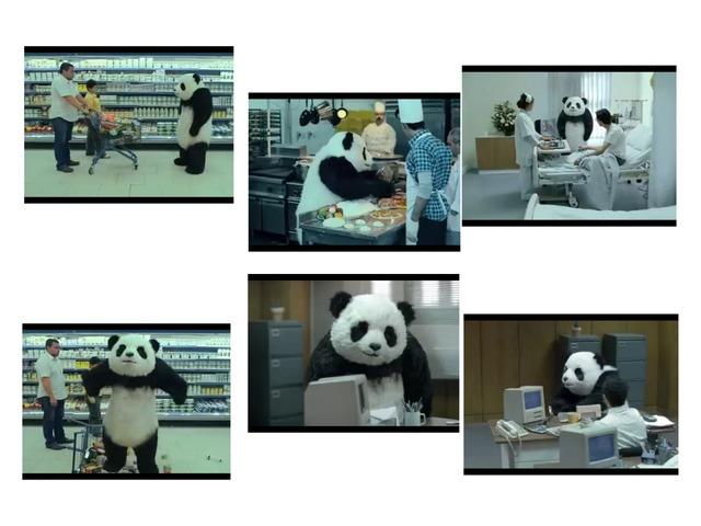 Panda by Barbi Bujtas
