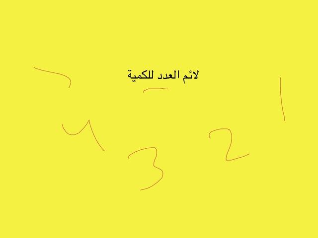 العدد والكمية by Maalee Asleh