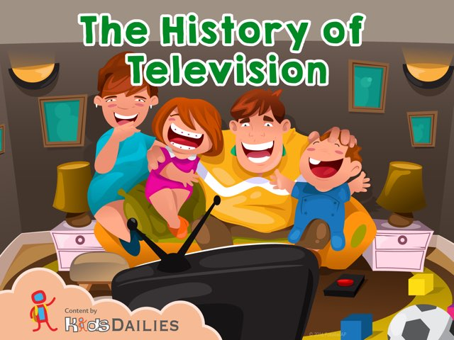 The History Of Television by Kids Dailies