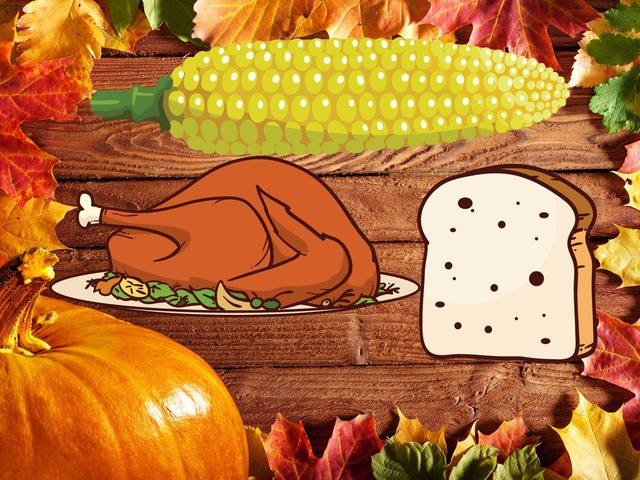 Thanks Giving Dinner by Ruby McClellan