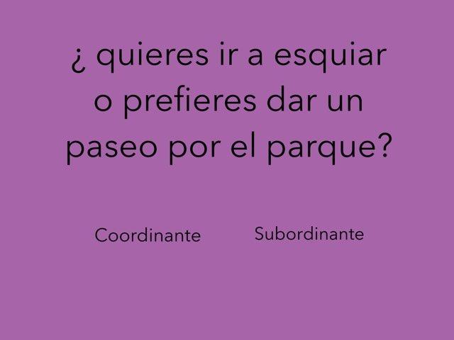 Conjunciones Color/subor  by Cris Ortiz M