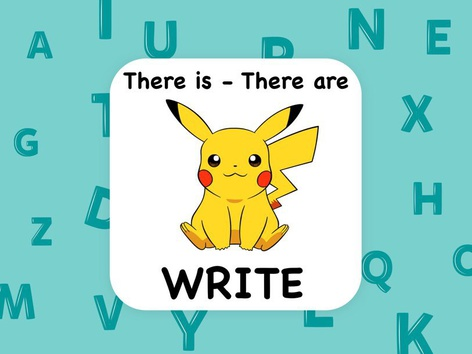 There Is - Write by ShowAnd Text