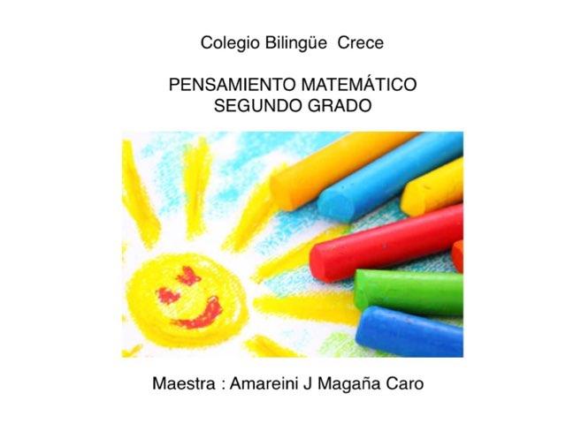 PENSAMIENTO MATEMÁTICO  by Amareini Caro