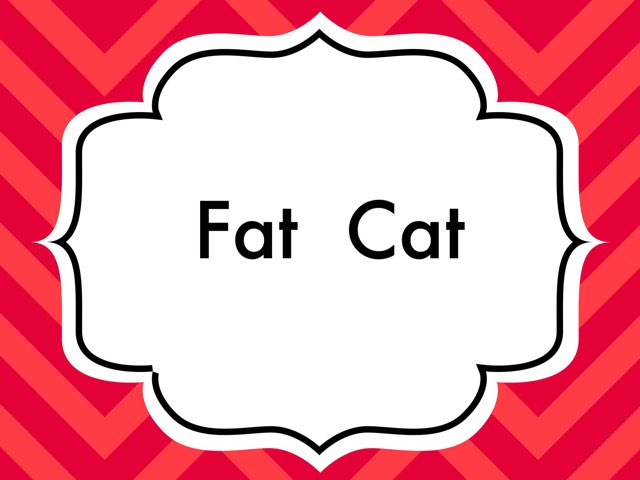 Fat cat Speed Word Game by Catherine Mangan