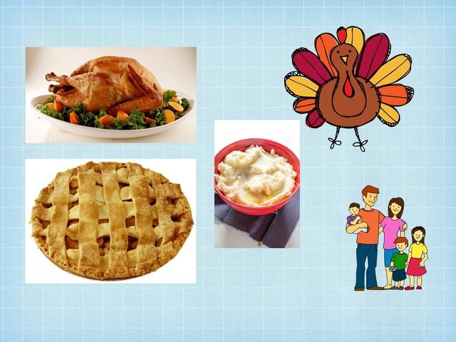 Thanksgiving Vocab  by Samantha Belman