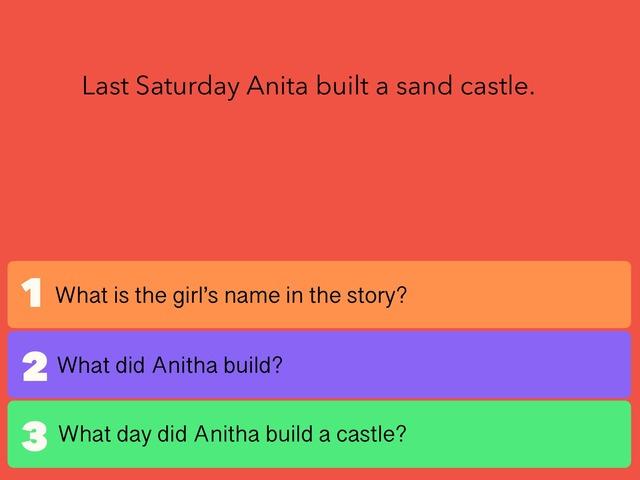 Wh Questions  by Lavanya Sriram