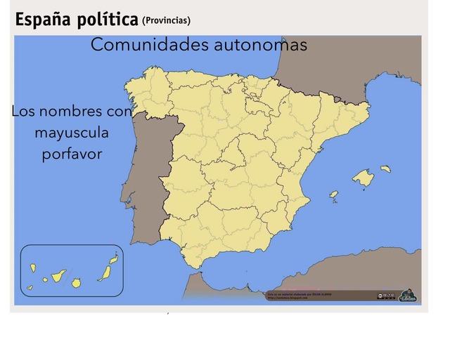Comunidades Autonomas by Iker Cimadevilla Martinez