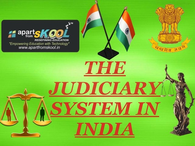 The Judiciary System In India by TinyTap creator