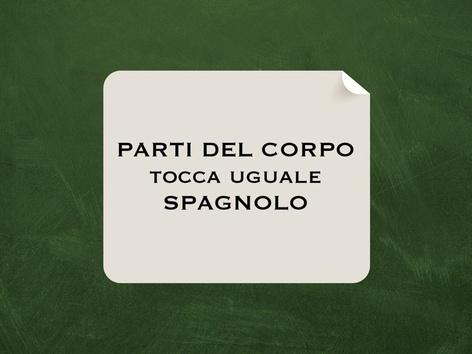 Tocca Uguale Parti Del Corpo SPA by Monica Failla