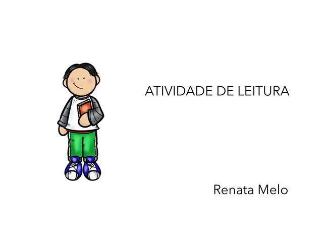 Leitura Com Compreensão  by Renata Melo