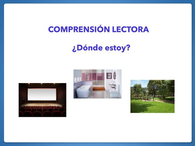 Comprensión lectora. ¿Dónde estoy? by Francisca Sánchez Martínez