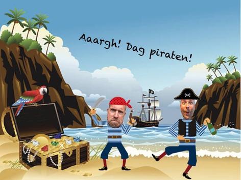 Piraten Van De Zee by Roel Van de Pol