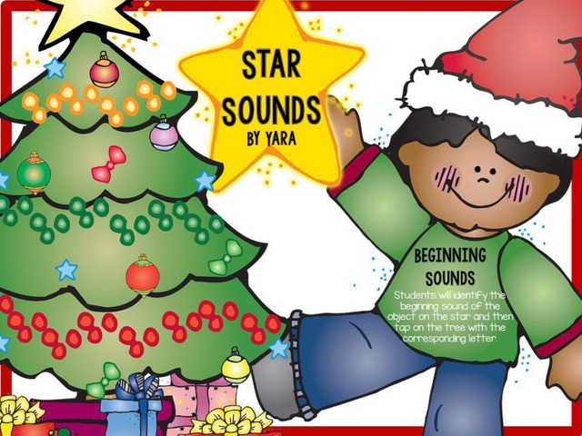 Christmas Star - Beginning Sounds  by Yara Habanbou