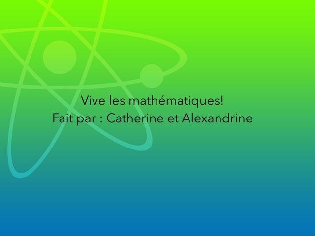 Mathématique  by Alexandrine Delaunay