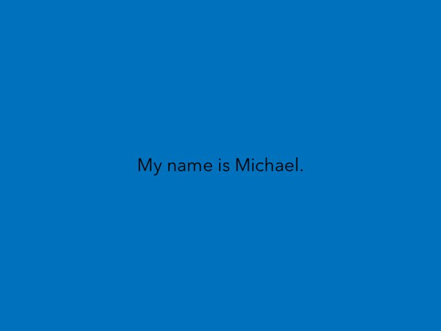 Michael SS  by Dana Balzer