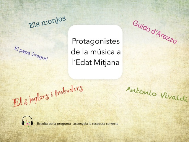 Música Edat Mitjana by Teresa Ortega Ferrer