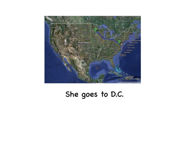 She Goes To D.C  by Rebecca Jarvis