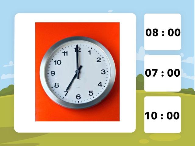 Clock by Class Mars