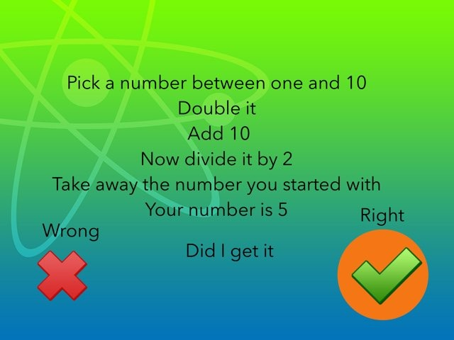 Pick A Number between 1and10 by Paula Vamplew