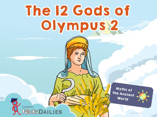 The 12 Gods of Olympus II by Kids Dailies