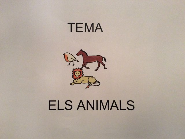 ELS ANIMALS by Antonia Valderrama Sanchez