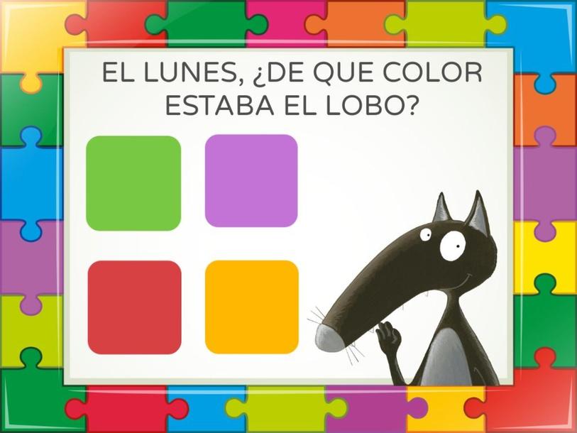 EL LOBO QUE QUERÍA CAMBIAR DE COLOR by Gisela Gonzalez